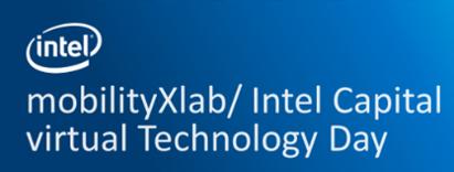 mobilityXlab & Intel Technology Day, September 16, 2020